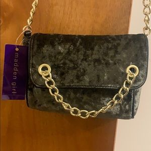 Olive Madden girl suede crossbody purse